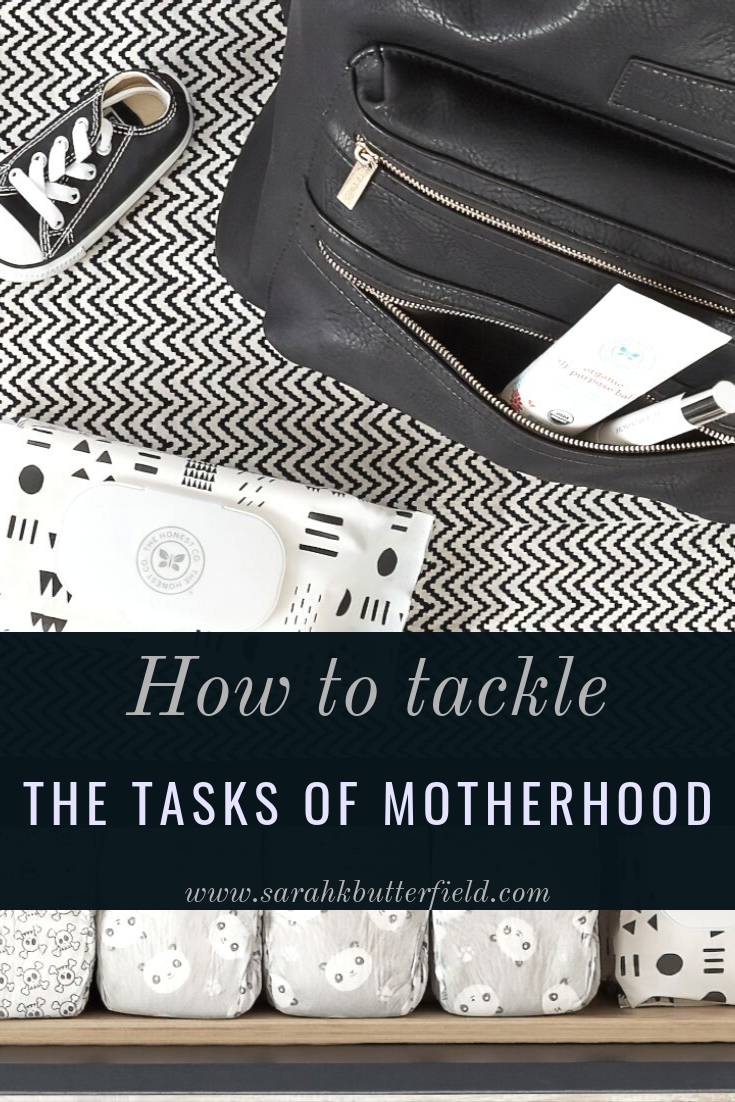 How to tackle tasks of motherhood