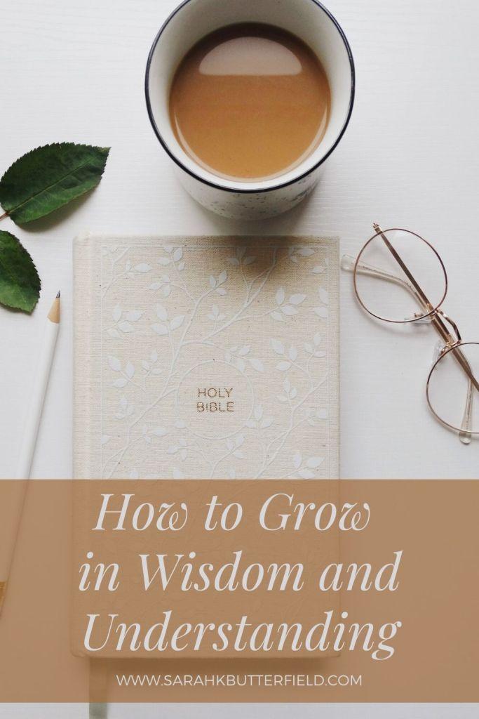 how to grow in wisdom and understanding